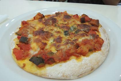 016季節の野菜ピザ