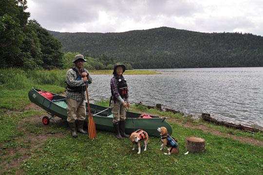 105然別湖で記念撮影2