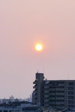 20140531 黄砂の朝
