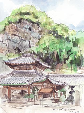 20140729 生駒山 宝山寺