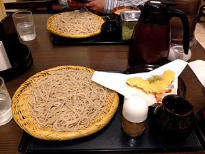 信州庵の蕎麦
