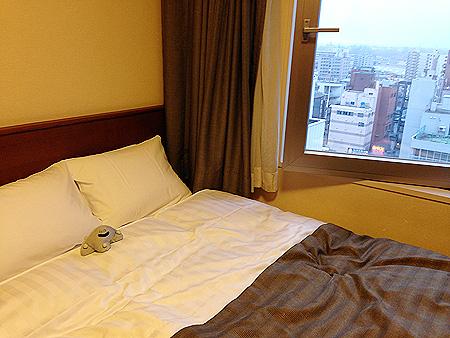 ラビスタ釧路客室ダブルベッド
