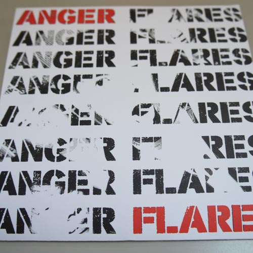 ANGER FLARES 722-1