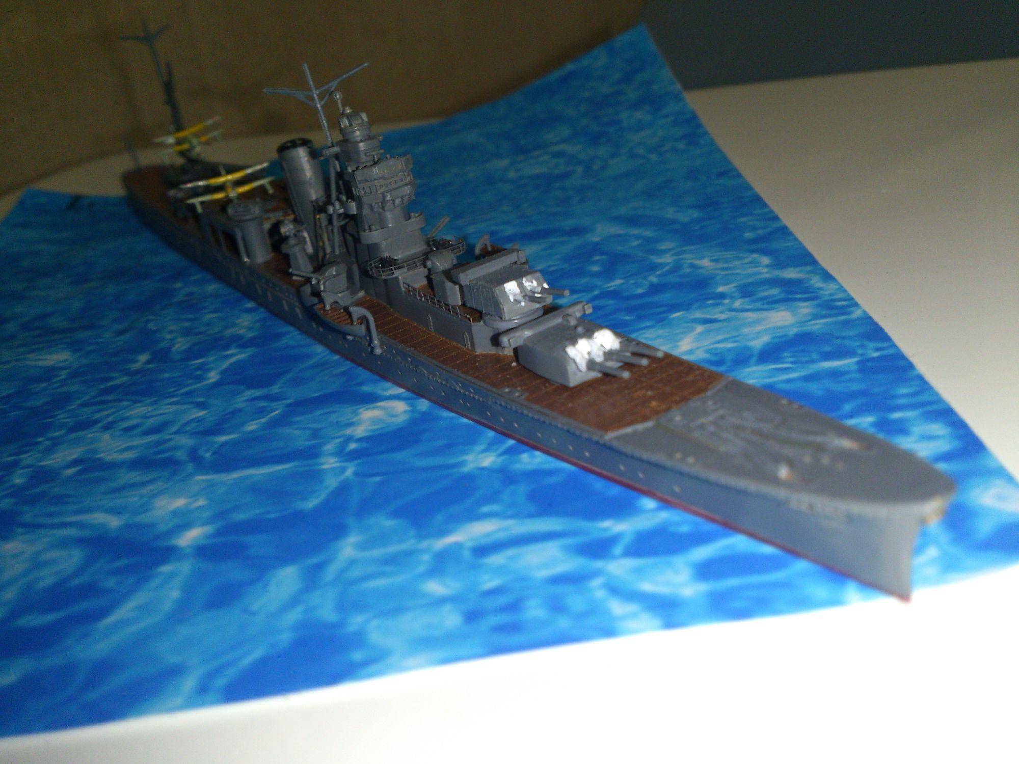 軽巡洋艦「阿賀野」 前