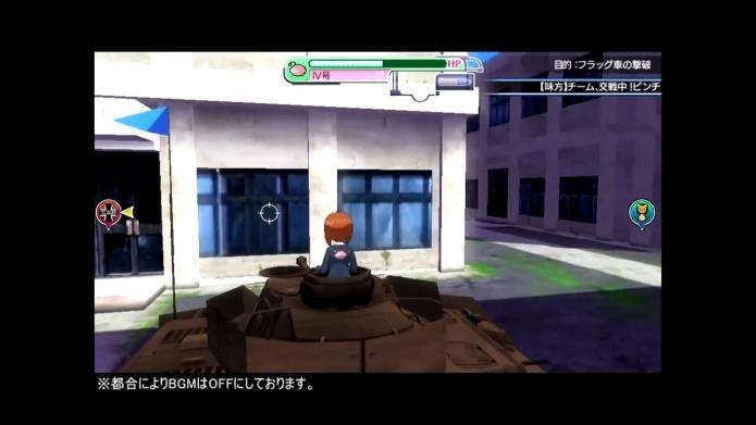 『ガールズamp;パンツァー 戦車道、極めます!』第4弾プレイ動画 VS黒森峰女学園.720p.mp4_000166733