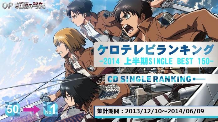 sm23749886 - 上半期アニソンランキング 2014 SINGLE BEST 150【ケロテレビ】1-50.mp4_000003436