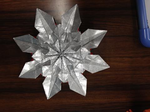 ハート 折り紙 折り紙で雪の結晶 : nihongodeasobo.blog129.fc2.com