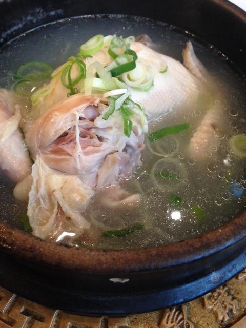 栄養 参鶏湯