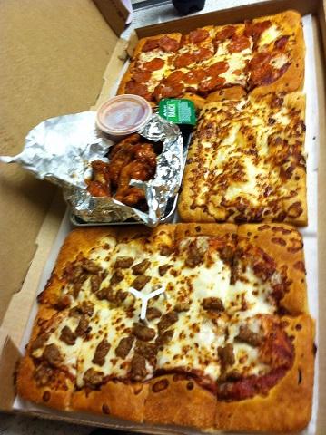 7-25 pizza