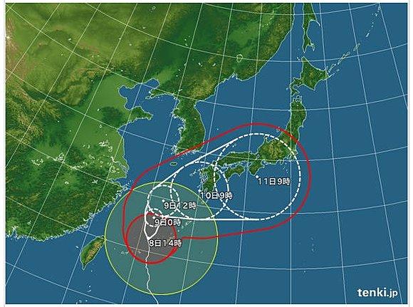 2014台風8号