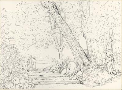 清澄庭園ペン