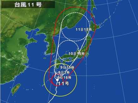 台風11号_6