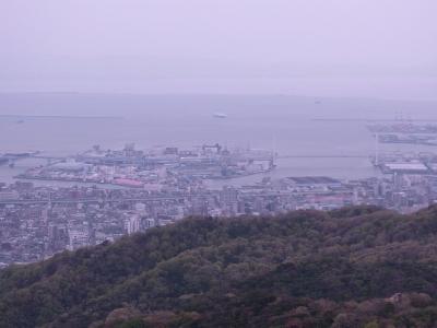 リサイズ-振り返ると神戸の街が