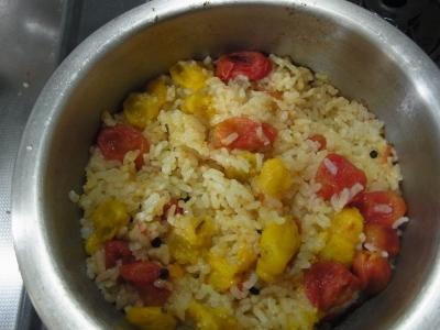 トマトご飯3