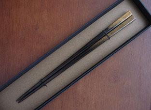 2014523※黒柿箸get