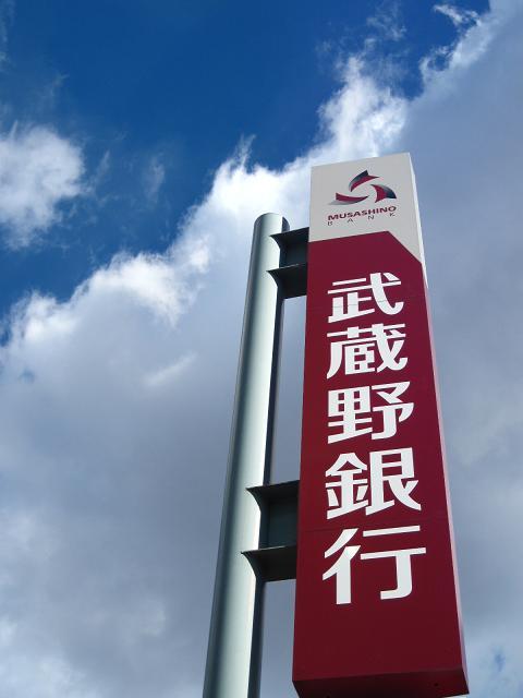 武蔵野銀行のロゴとマーク