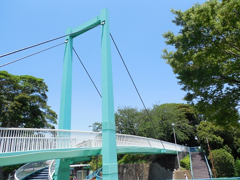 野毛のつり橋C