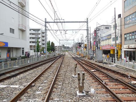 西武池袋線のひばりヶ丘第1踏切@西東京市H