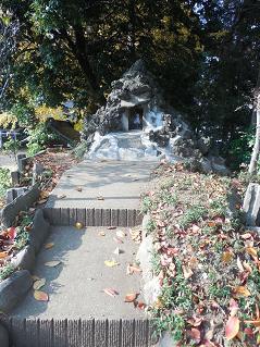 氷川神社の富士塚「雀ノ森富士」@川越市M