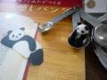 ナンフェア Makiko さんの羊毛パンダ