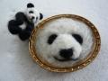 ナンフェア 羊毛フェルトのパンダ