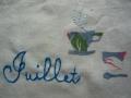 ナンフェア Juillet 刺繡