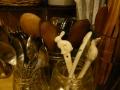 ナンフェア キッチン 陶器うさぎのスプーン