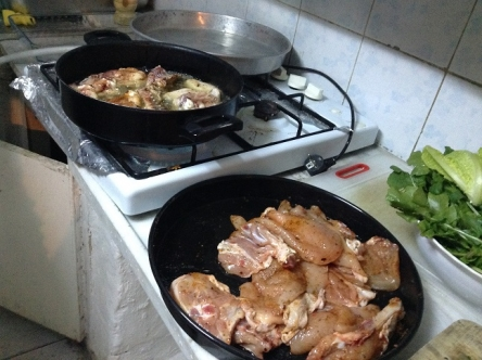 トルコ料理と言えば油ですね、の量