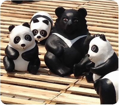 1600猫熊世界之旅クマ