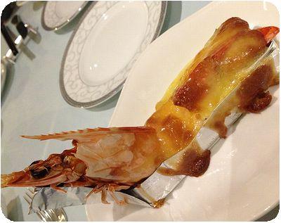 真的好海鮮餐廳エビグラタン