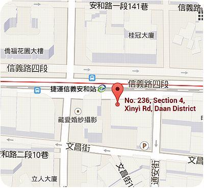 吉品海鮮餐廳地図