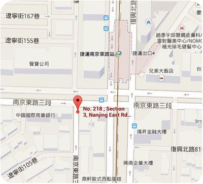 HongKong茶水地図