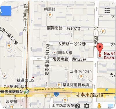 金秋商場地図