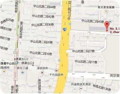 晶華軒地図