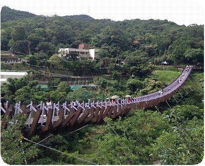 白石吊橋橋横