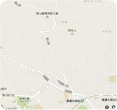 白石吊橋地図