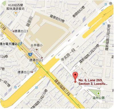 香料館地図