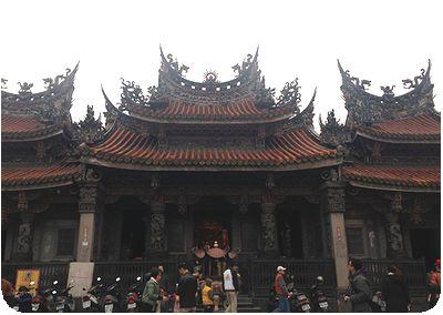 三峡祖師廟正面