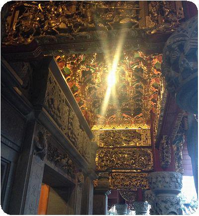 三峡祖師廟天井