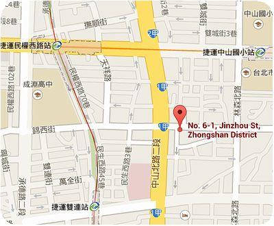 建弘雞肉飯(錦州店) 地図