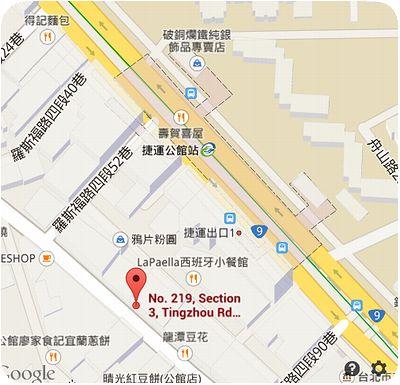 泰國小館地図