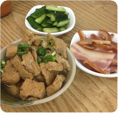 林東芳牛肉麵ミミガ―