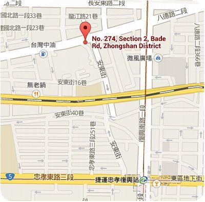 林東芳牛肉麵地図