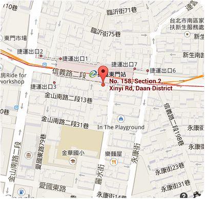 齊民市集地図