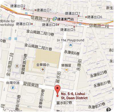 小茅屋地図