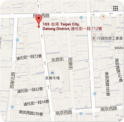 禧元堂地図