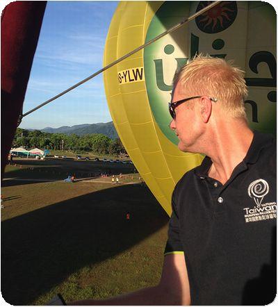 熱気球パイロット