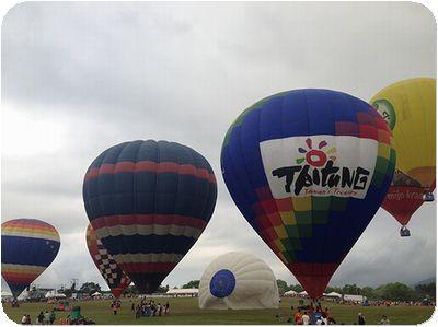 熱気球気球大きい