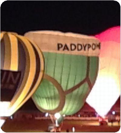 熱気球夜パンツ