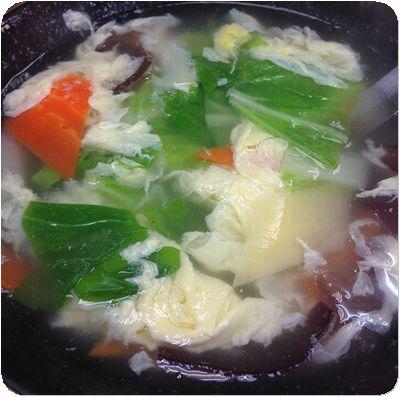 東門餃子館スープ